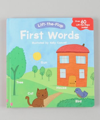 First Words Lift-the-Flap Hardcover