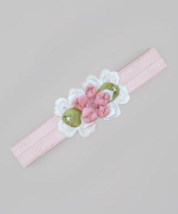 Truffles Ruffles Pink Lysa Headband