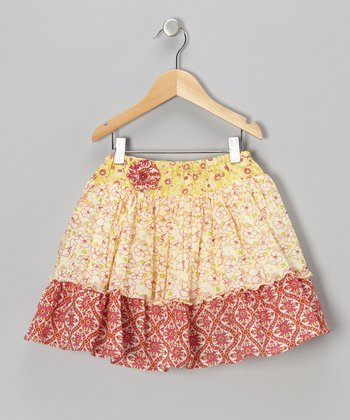 Bright Yellow Addie Skirt - Infant & Toddler