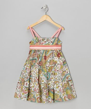 Sweet Sage Annie Dress - Toddler & Girls