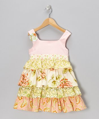 Sweet Sage April Dress - Girls