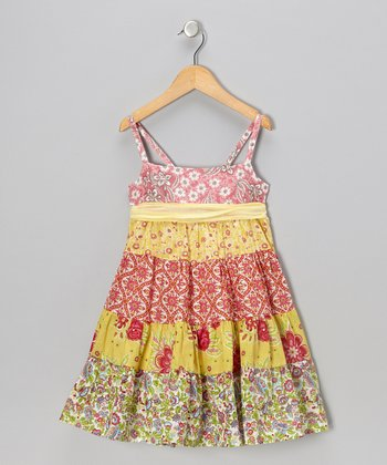 Bright Yellow Betsy Dress - Toddler & Girls