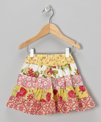 Bright Red Dixie Skirt - Infant & Girls