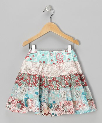 Red & Blue Dixie Skirt - Infant, Toddler & Girls