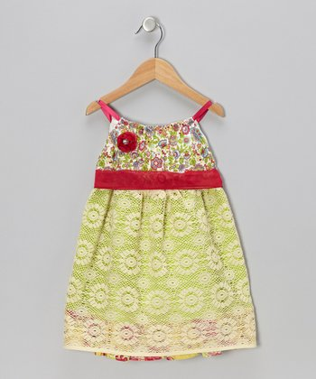 Bright Yellow May Dress - Infant, Toddler & Girls