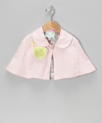 Sweet Pink Megan Cape - Infant, Toddler & Girls