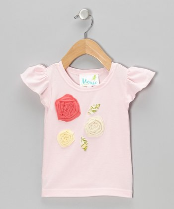Sweet Pink Rosie Tee - Infant & Toddler
