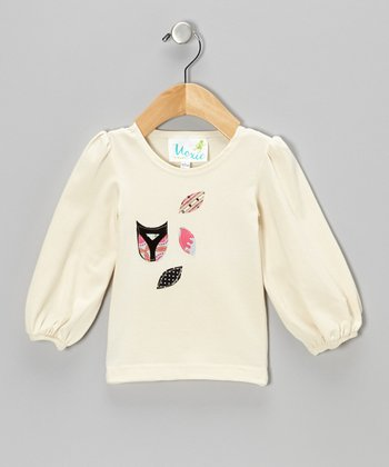 Beige Owl Tee - Infant, Toddler & Girls