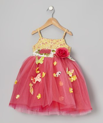 Bright Amelia Dress - Toddler & Girls