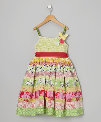 Bright Rosalie Dress - Infant, Toddler & Girls