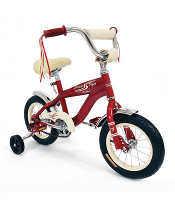 Red 12'' Retro Bicycle