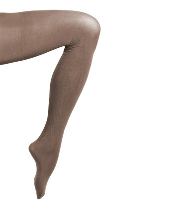 Chocolate Sheer Joy Shaper Tights - Women