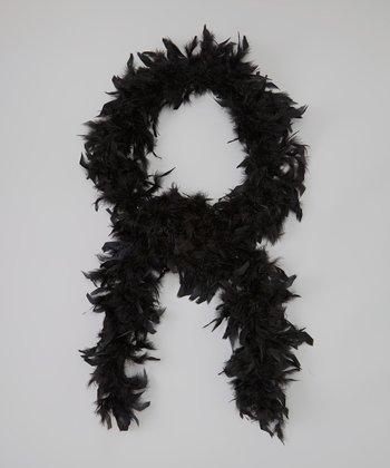 Black Chandelle Feather Boa