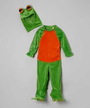 Green Frog Dress-Up Set - Infant