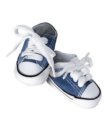 Blue Doll Tennis Shoes