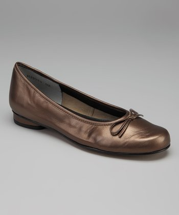 Bronze Leather Maple Flat