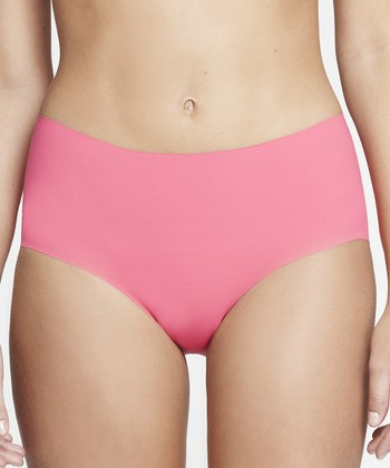 Pink Invisible Bikini Briefs - Women