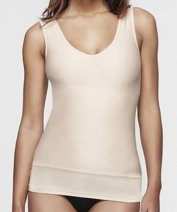 Nude Two-Way Shaping Tank - Women & Plus
