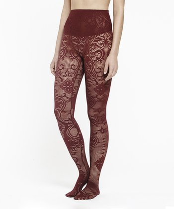 Port Lace Bernadette Shaper Tights - Women
