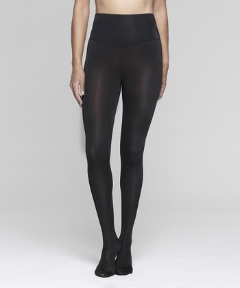 Black Shaper Tights - Women