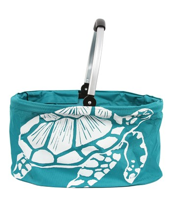 Sea Turtle Folding Market Basket