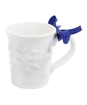 White Fish 20-Oz. Ceramic Mug