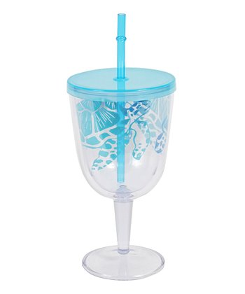 Sea Turtle Portable Wineglass