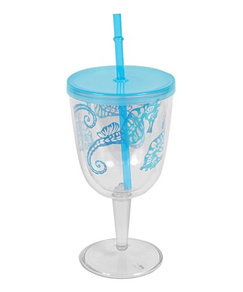 Sea Horse Portable Wineglass
