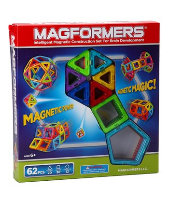 Rainbow 62-Piece Magformers Set