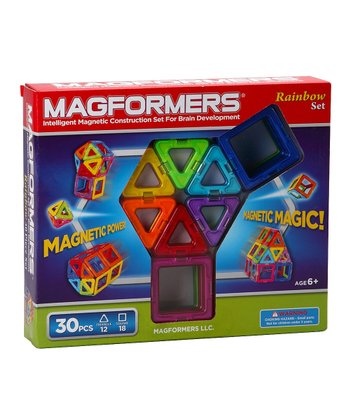 Rainbow 30-Piece Magformers Set