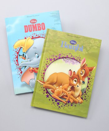 Bambi & Dumbo Hardcovers