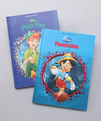 Peter Pan & Pinocchio Hardcovers
