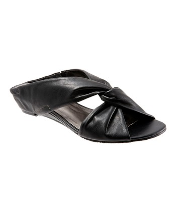 Black Twist Cameron Sandal - Women