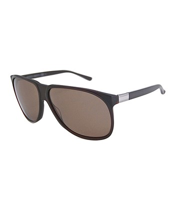 Gucci Dark Brown Tortoise Sunglasses