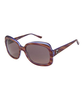 Gucci Brown Butterfly Sunglasses