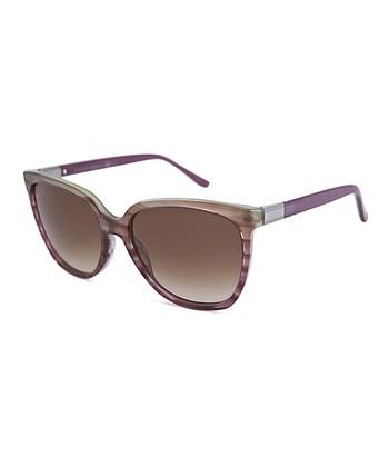 Gucci Purple Cat-Eye Sunglasses