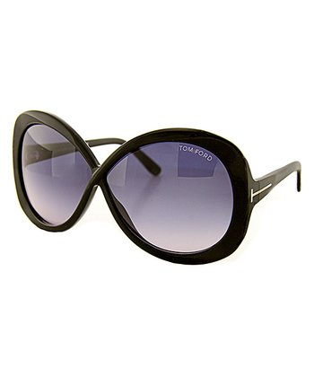 Black & Gray Gradient Margot Sunglasses