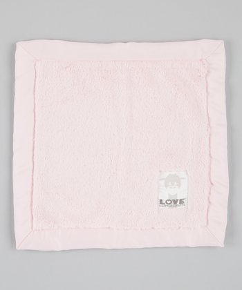 Pink Posh Satin Security Blanket