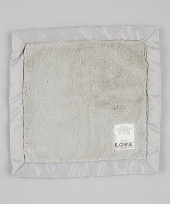Silver Posh Satin Security Blanket