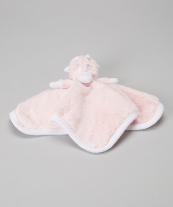 Pink Travel Pal Security Blanket