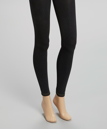 Black Silky Jeggings