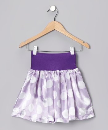 Lavender Gypsy Skirt - Girls