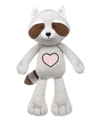 GANZ Gray Heartland Raccoon Plush Toy