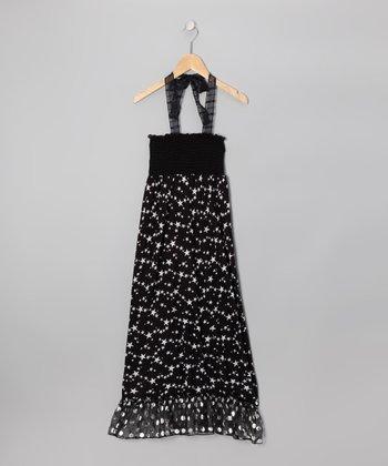 Zoe Black Star Maxi Dress