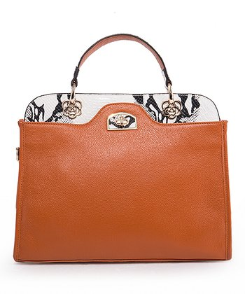 Brown Lydia Leather Tote