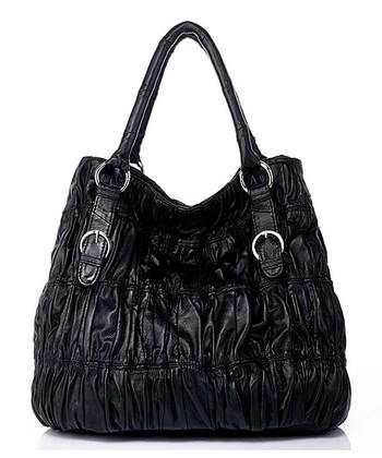 Foley & Agamo Black Kimberly Leather Tote