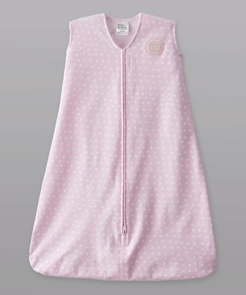 Pink Mini Polka Dot HALO SleepSack
