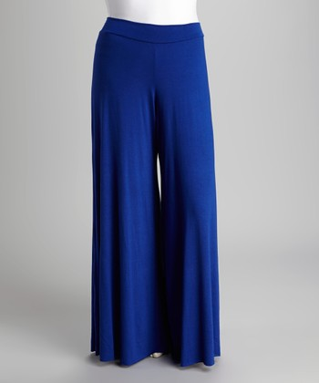 Royal Palazzo Pants - Plus
