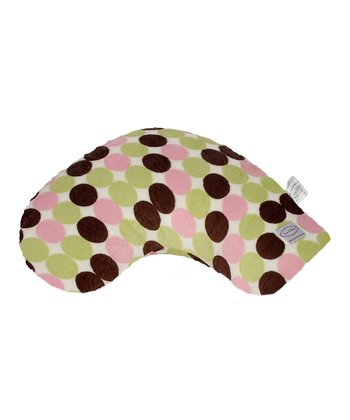 Lime & Pink Minky Dot Lil' Something Nursing Pillow & Slipcover