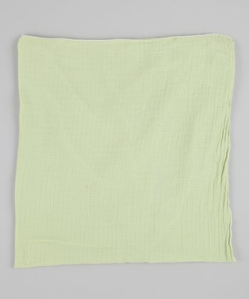 Pastel Green Swaddle Blanket
